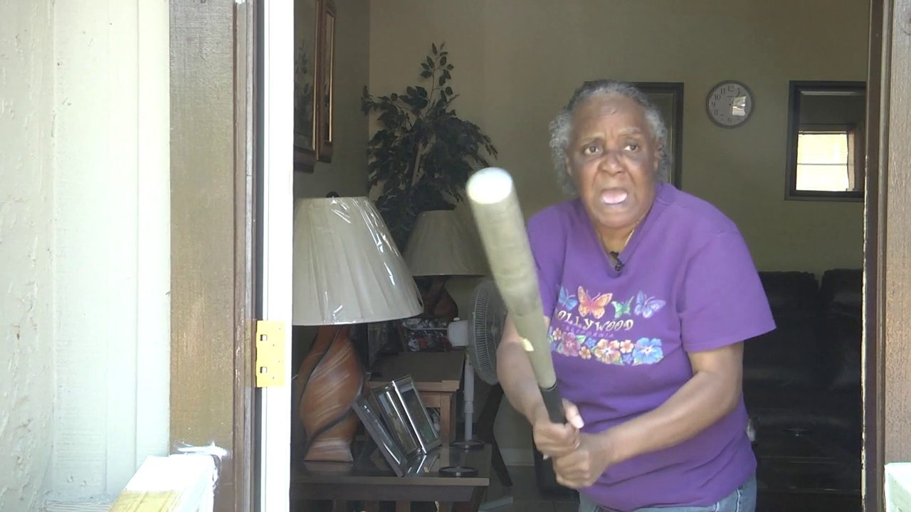 MUST WATCH: Grandmother fends off 300-pound attacker with