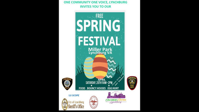 Lynchburg police, community members holding Spring Festival Saturday