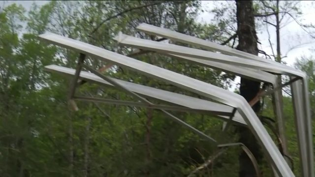 Franklin County focuses on cleanup after tornado rips through the area