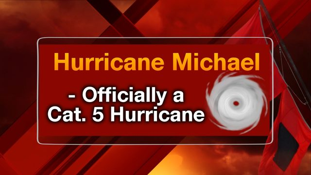 Hurricane Michael upgraded to a Category 5 upon post-storm analysis