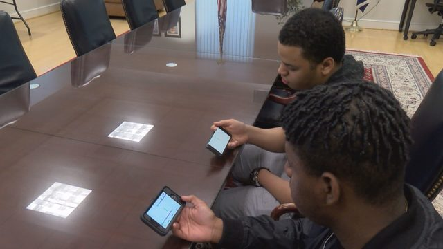 Danville Community College students create mobile video game