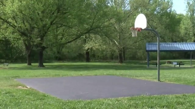 Danville's basketball courts resurfaced
