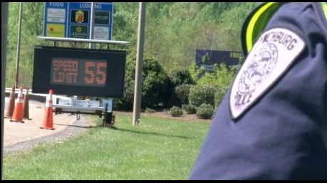 Lynchburg police forcing drivers to slow down on Expressway 29