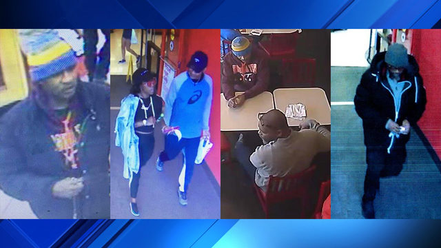 Trio wanted in connection to credit card theft, fraud in Roanoke, Christiansburg