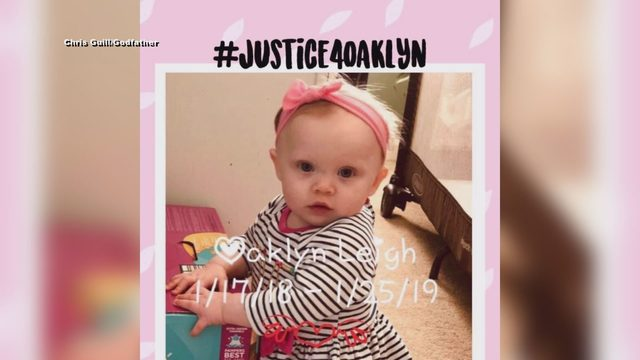 'We'll never get over losing Oaklyn': Danville 1-year-old remembered