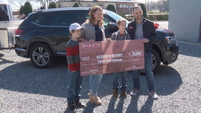 Sheetz surprises South Boston business owner with car, camper, cash