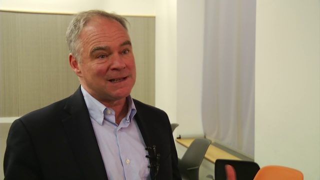 Senator Kaine comments on General Assembly special session
