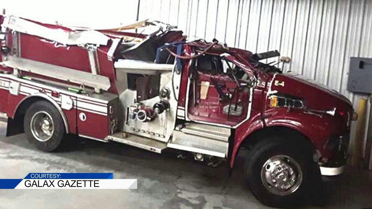 Hillsville Firefighters Expected To Be Ok After Fire Truck