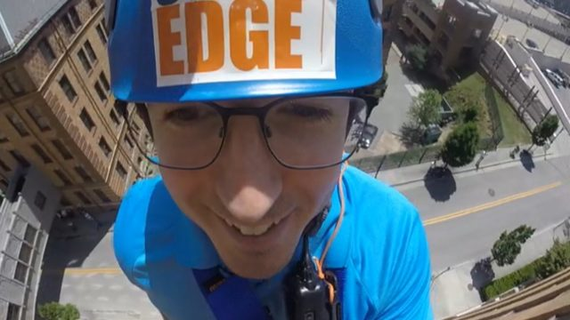 Go 'Over the Edge' with StormTeam 10 meteorologist Chris Michaels