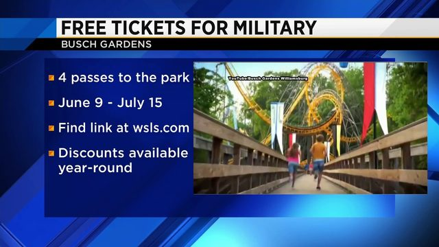 Busch Gardens gives back to military veterans