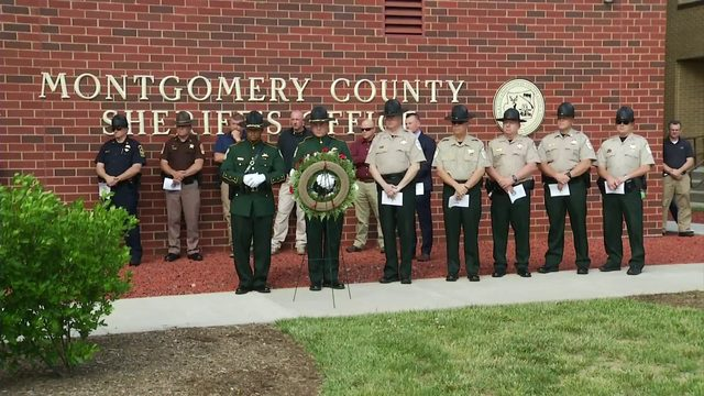 Montgomery County honors fallen officers at memorial service