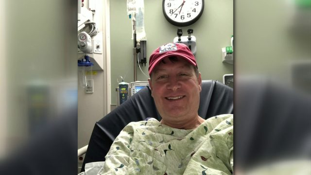 John Carlin opens up about this battle with sarcoidosis