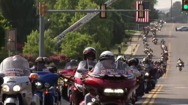 Memorial Day 'Run For The Wall' rides into Wytheville