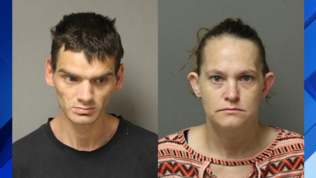 Two in Narrows arrested, charged with having meth