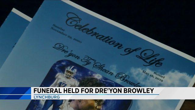 Dre'Yon Browley Funeral in Lynchburg