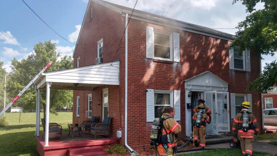 Smoke Alarm Alerted Two To Escape Roanoke Home On Fire