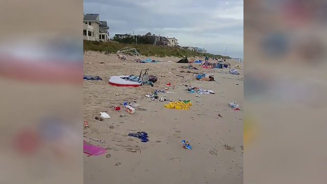 10 tons of trash removed from Virginia beach after Memorial Day weekend event