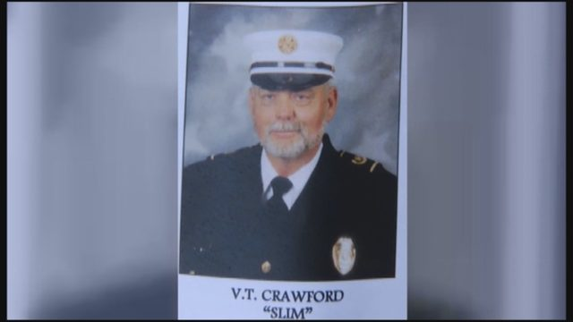 Memorial held at fire station for longtime Scruggs fire chief