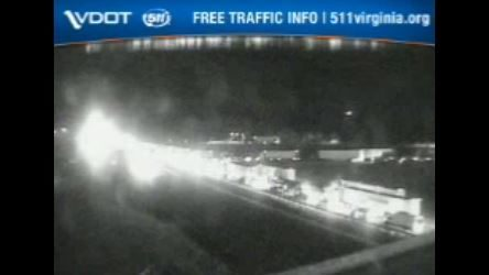 Truck hauling paint catches fire, caused major backup on I-81 South