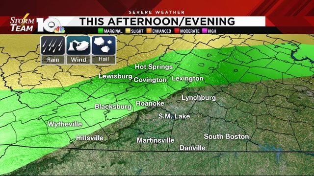 Patchy fog early, more heat, storms Thursday