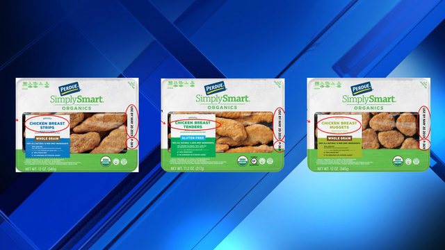 Perdue recalls more than 30,000 pounds of chicken
