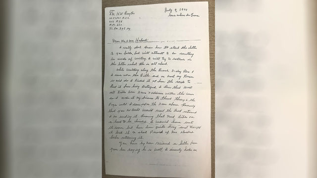 Bible of Bedford D-Day soldier returned to family after his death