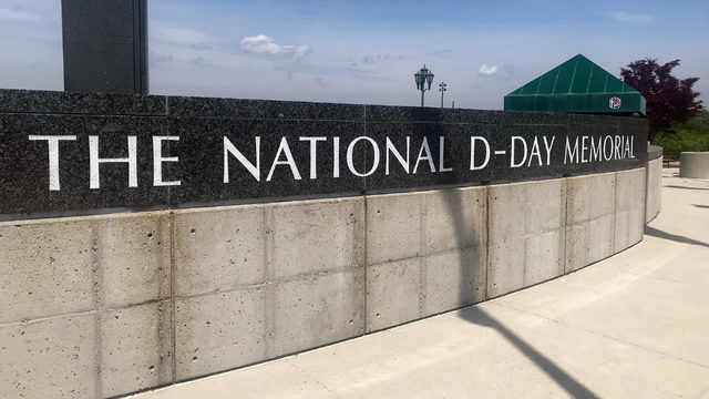 Man connects with late father by volunteering at D-Day Memorial