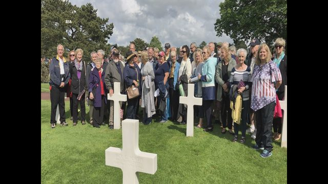 Local residents in Normandy for 75th D-Day commemoration