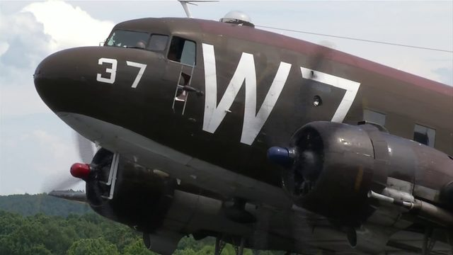 10 News takes to the sky in warbird that flew over Normandy beaches on D-Day