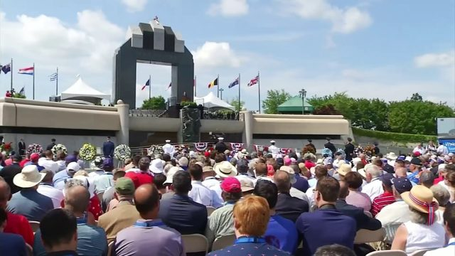 Honoring 'the Greatest Generation' on 75th anniversary of D-Day at…