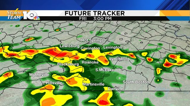 Widespread rain likely Friday; more chances to come beyond that
