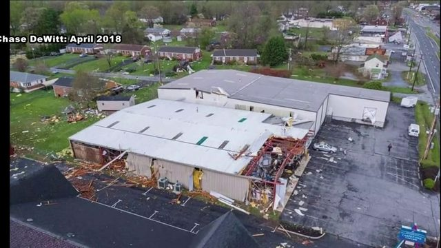 Decades old Lynchburg family business grows from destruction after tornado