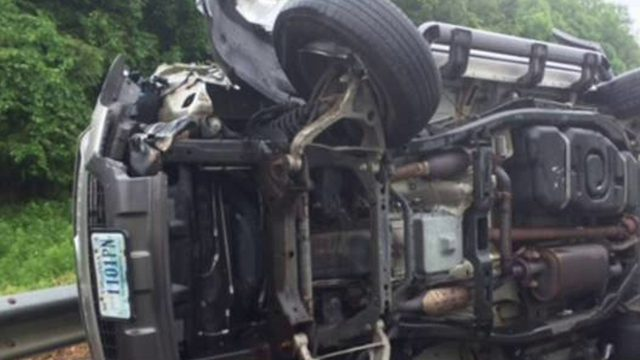 Lanes of I-81 reopen after eight car pileup