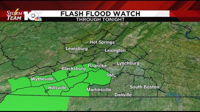 Flash Flood Watch: More flooding possible Monday before drying out Tuesday