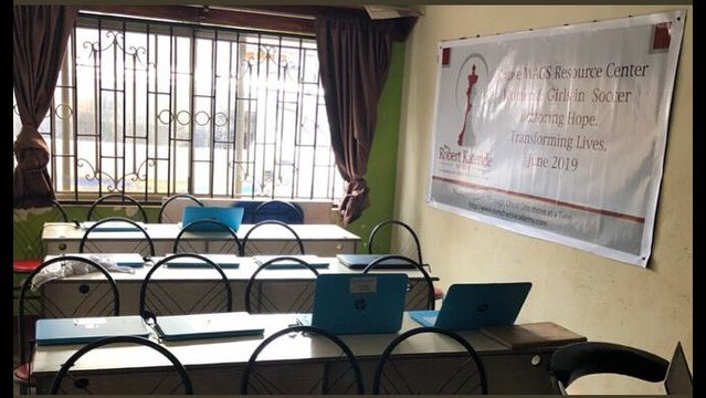 Local college athletes open two computer resource centers in Uganda
