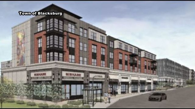 Change in Blacksburg: Plans for large apartment complex sign of town,…