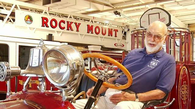 93-year-old Rocky Mount firefighter still answering call of duty