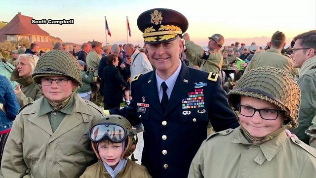Pulaski County native speaks on Omaha Beach for 75th D-Day anniversary