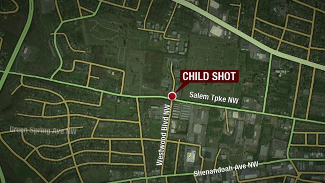 Boy recovering after being shot inside a Roanoke home