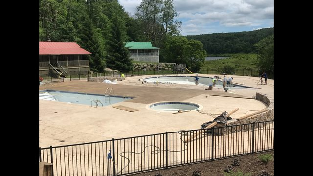 Family pool and hot tub added to resort amenities at Mountain Lake Lodge