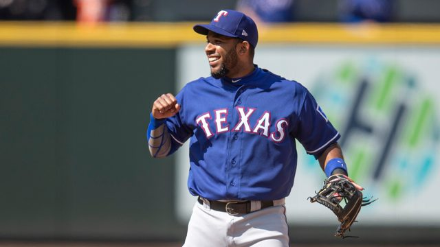 Elvis Andrus enlists help of 'Baby Shark' at his first at-bat of season