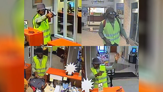 FBI offering $10,000 reward for arrest in Virginia armed bank robbery