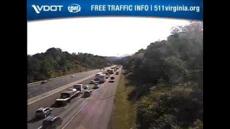Wreck cleared on I-81 North in Montgomery County