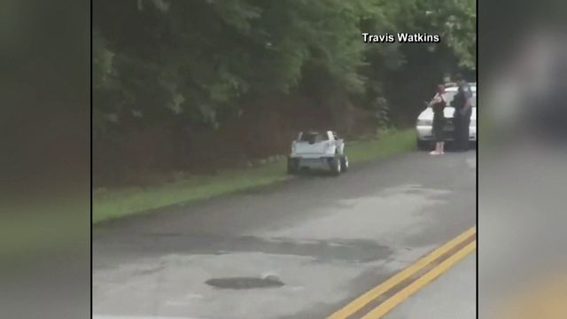 South Carolina woman pulled over by police for driving toy truck while drunk