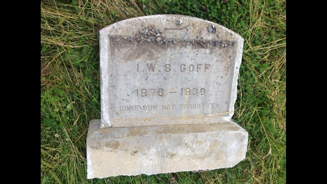 Deputies: Tombstone removed from cemetery, thrown out on side of road