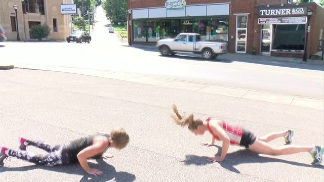 Franklin County woman on 22-day workout campaign to help soldiers, veterans