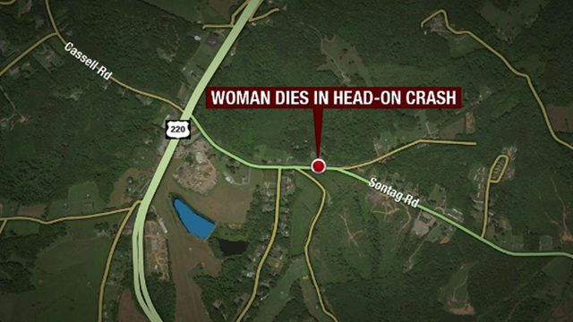 Rocky Mount woman dies in head-on crash