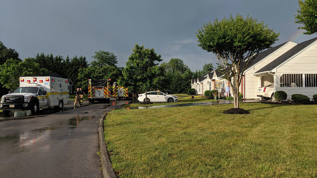 Elderly woman hospitalized with life-threatening injuries after fire in…