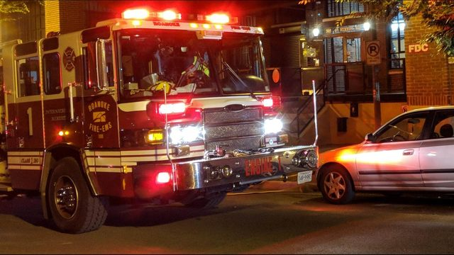 Hazmat investigation at downtown Roanoke apartment building