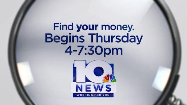 10 News Find Your Money phone bank begins Thursday